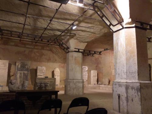 Underneath the Kalemegdan Citadel, Belgrade