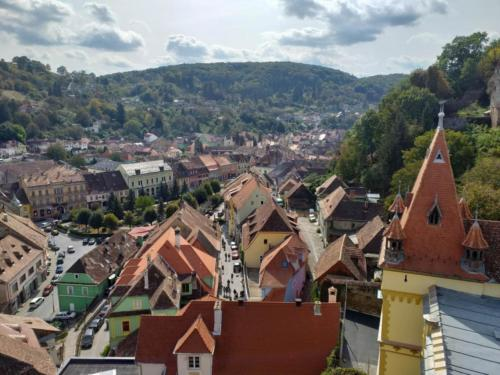 View from the Clock Tower, Sighișoara